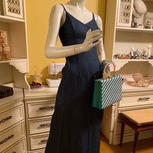 Dresses & Skirts - Custom made denim dress.